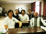 2011年2月にヨーロッパのオステオパシーのDr.と外科医のDr.たちと